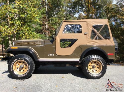small resolution of 1977 jeep cj5 jeep cj golden eagle all original