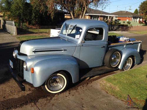 small resolution of 1946 ford jail bar pick up v8 stepside f100 f150 f250 truck in bannockburn vic