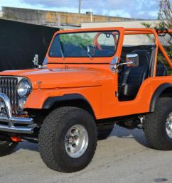 jeep cj7 orange [ 1200 x 800 Pixel ]