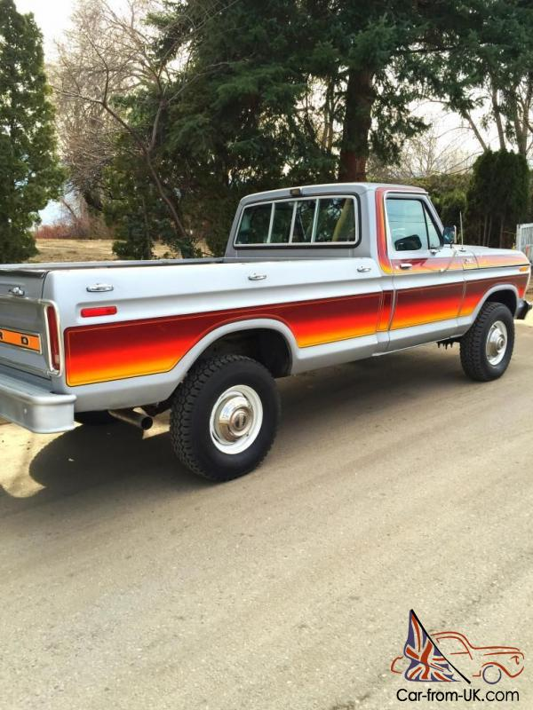 1979 Ford F250 For Sale : F-250, Wheeler