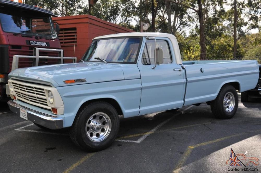 medium resolution of 1968 ford f 250 pick up long bed 390 v8 c 6 trans not a mustang camaro