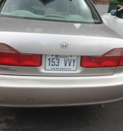 i am selling my 1998 honda accord that is used by single hand owner the vehicle has been inspected new winter tires summer tires and new battery  [ 1066 x 800 Pixel ]