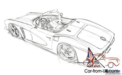1962 Corvette Resto-Mod 595 HP 383 in-build for 2016.
