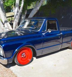 1968 chevrolet c10 short bed pickup 350ci 700r auto air ride mob steel 20 s in qld [ 1199 x 800 Pixel ]