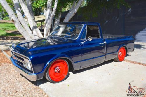 small resolution of 1968 chevrolet c10 short bed pickup 350ci 700r auto air ride mob steel 20 s in qld