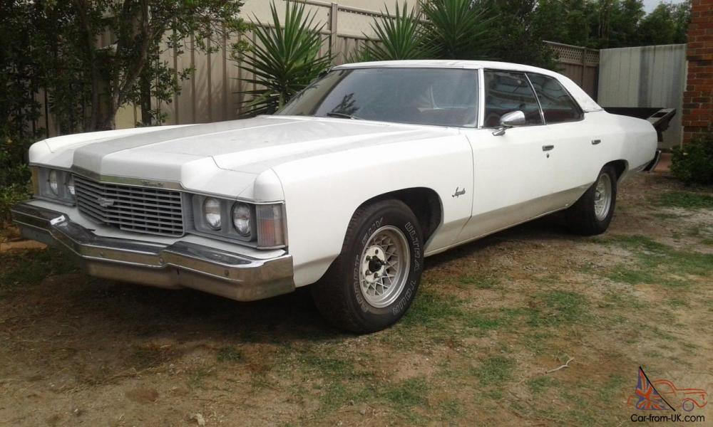 medium resolution of 1974 chevrolet impala 350 v8 auto rhd not pontiac cadillac buick oldsmobile
