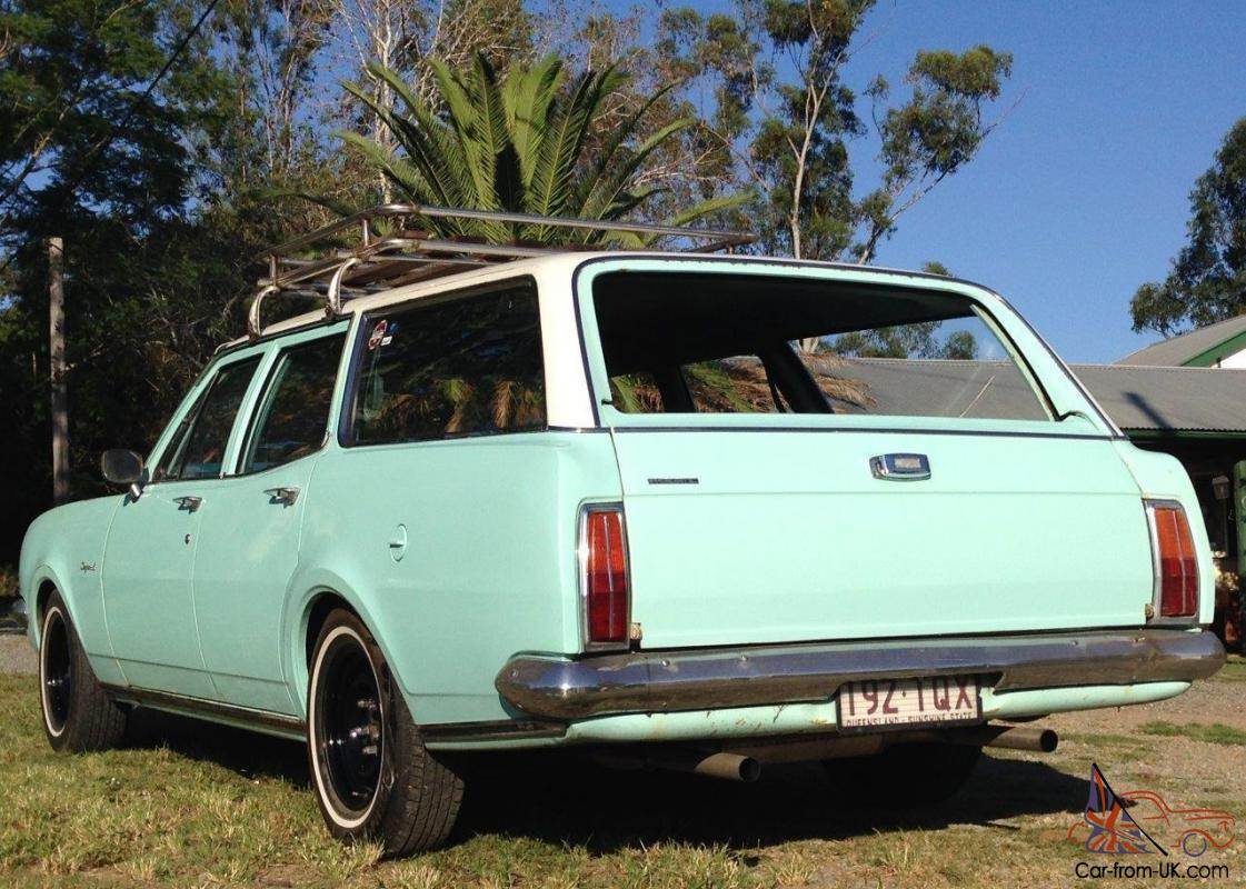 1970 HG Holden Wagon Original Mint Unrestored Condition
