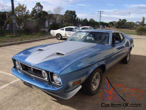 1973 ford mustang mach i fastback coupe. 1973 Ford Mustang Fastback Mach 1 302 V8 5 Speed Manual In Vic