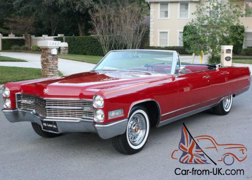 1966 Cadillac Eldorado Convertible