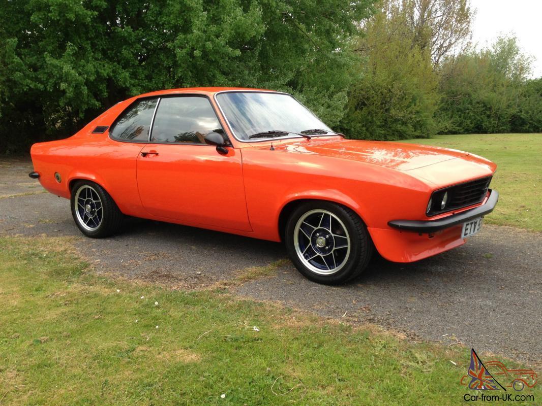 1973 Opel Manta Interior