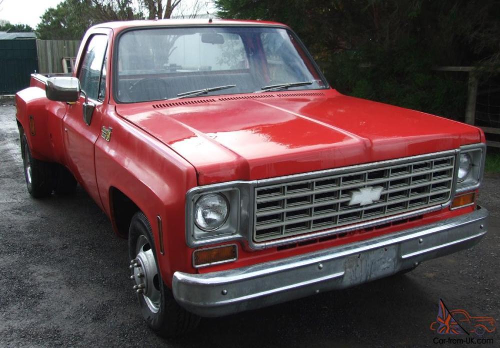 medium resolution of chevrolet 1975 c10 c20 c30 pickup dually chev truck gmc truck photo