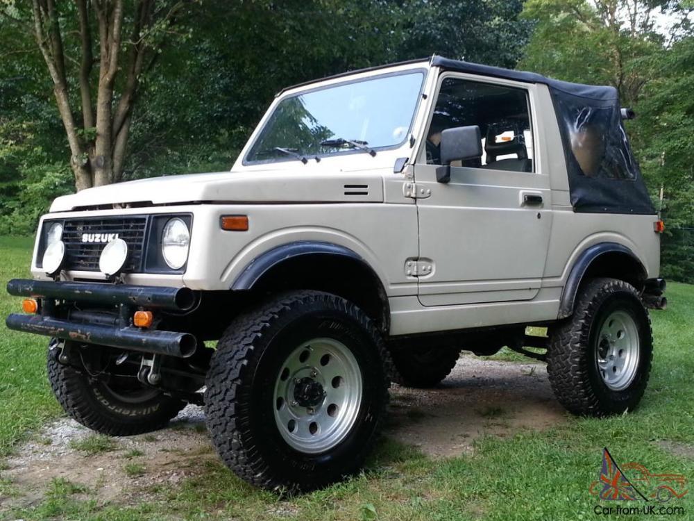 medium resolution of 1988 suzuki samurai 1 9 turbo diesel jeep image suzuki samurai