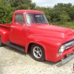 1953 Ford F100 Classic Hot Rod Pick Up Red