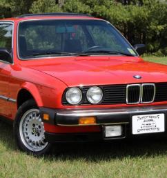 1984 bmw 325e red only 29k miles pristine 2 door manual trans photo [ 1200 x 800 Pixel ]