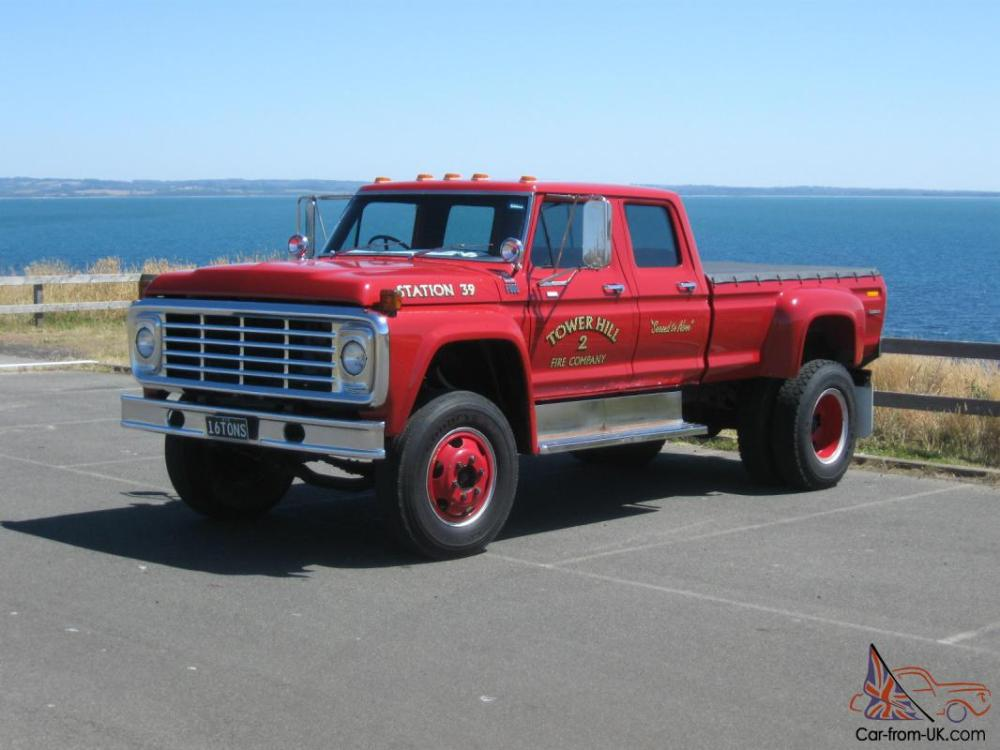 medium resolution of ford f100 f250 f350 buyers take note f600 factory built crew cab big block auto in