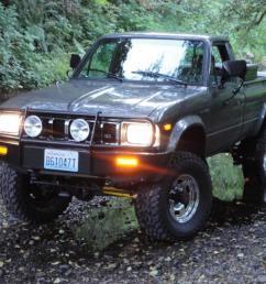 1983 toyota 4x4 sr5 long bed pickup hilux 22r arb low miles beautiful truck [ 1066 x 800 Pixel ]