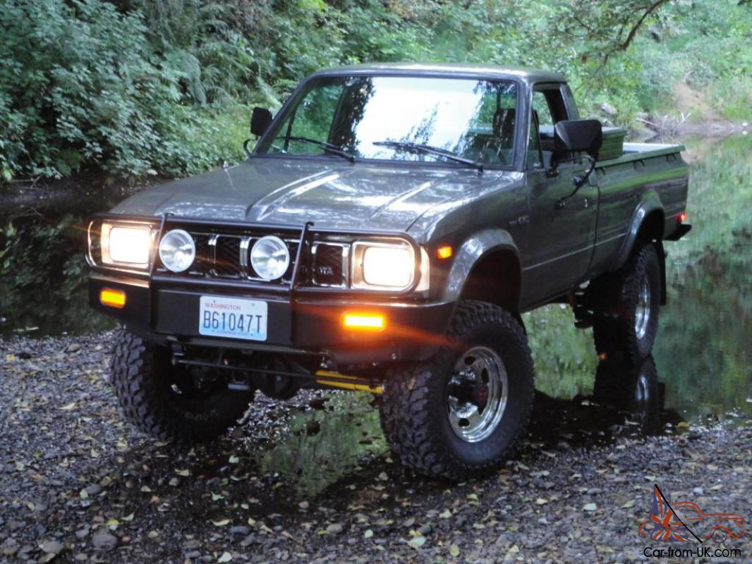 hight resolution of 1983 toyota 4x4 sr5 long bed pickup hilux 22r arb low miles beautiful truck
