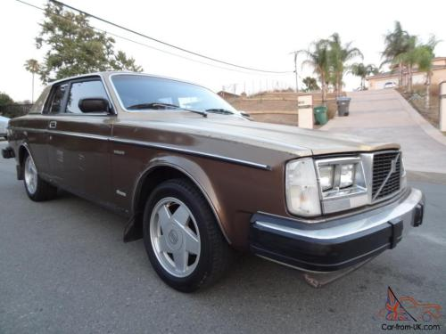 small resolution of 81 volvo 262c bertone coupe rare 262 factory chop top 240 brick 242 200 series