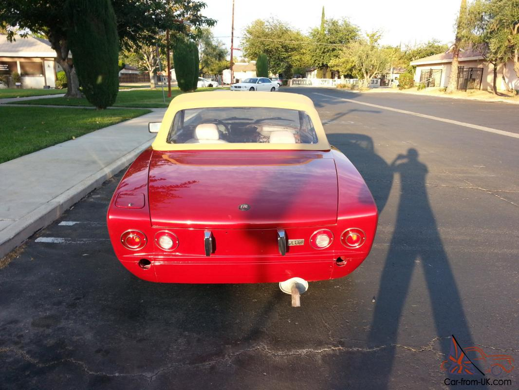 hight resolution of fiat 1981 spider tail light