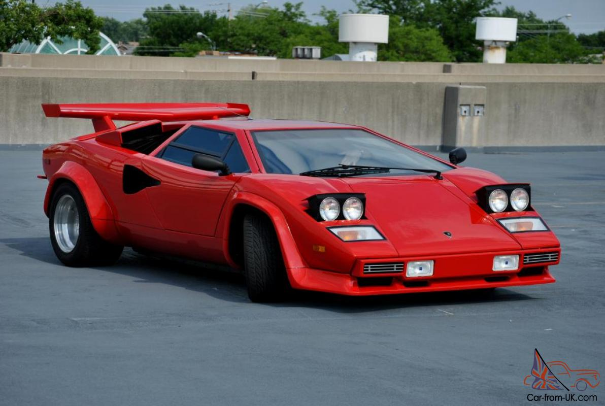 1980 Lamborghini Countach Prova V8 Tube chassis