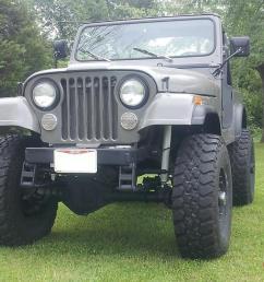 1977 big block 440 jeep cj 7 no reserve cj7 cj 7 [ 1066 x 800 Pixel ]