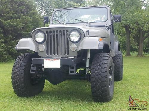 small resolution of 1977 big block 440 jeep cj 7 no reserve cj7 cj 7