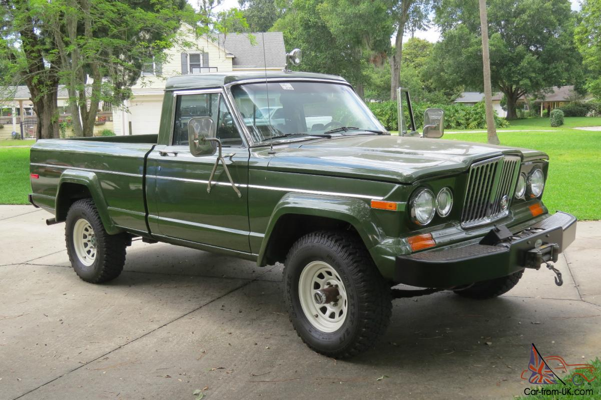 hight resolution of 1984 jeep j10 short bed pickup 360 v8 4x4 auto air frame