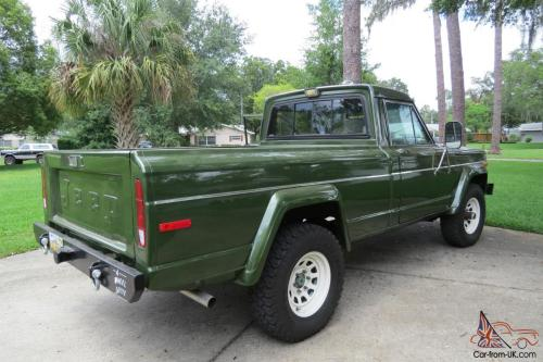 small resolution of 1984 jeep j10 short bed pickup 360 v8 4x4 auto air frame off restored