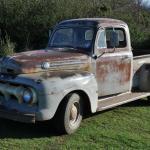 1952 Ford F 1 Pickup Original Unrestored Condition No Rot Flathead V8
