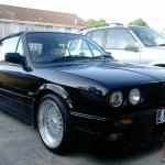 Bmw 325 Convertible Black E30