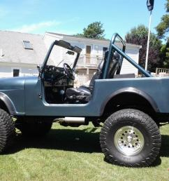1985 jeep cj7 frame off restoration with amc 360 beautiful photo [ 1066 x 800 Pixel ]