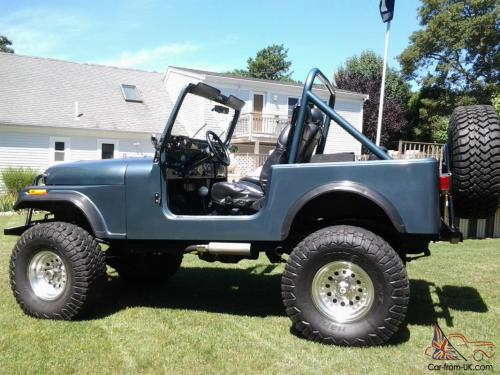 small resolution of 1985 jeep cj7 frame off restoration with amc 360 beautiful photo
