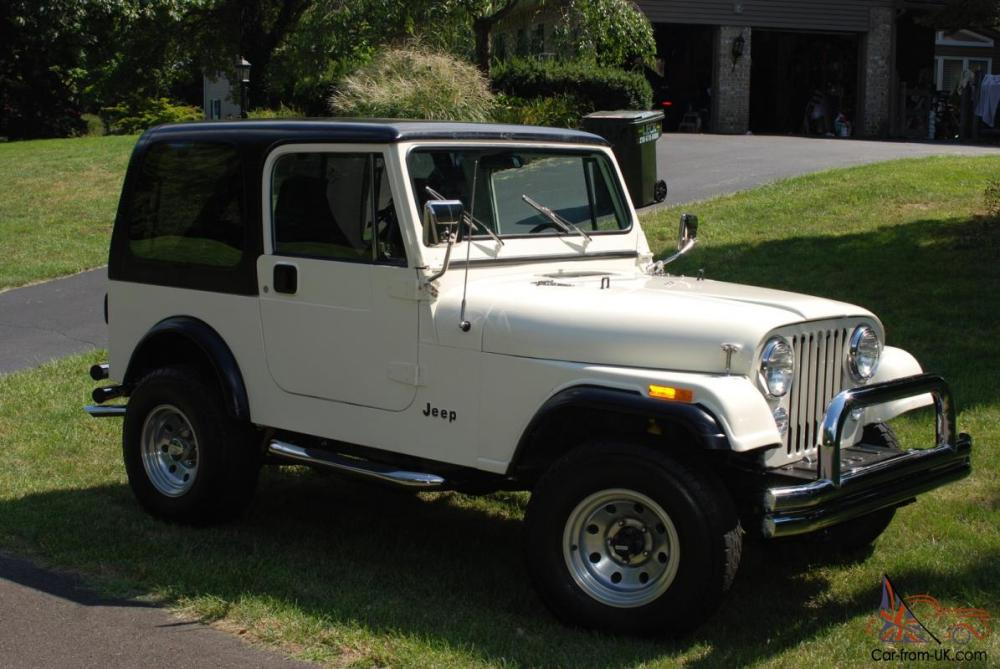 medium resolution of 1985 jeep cj7 renegade rust free head turner runs like a clock no reserv