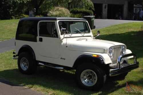small resolution of 1985 jeep cj7 renegade rust free head turner runs like a clock no reserv