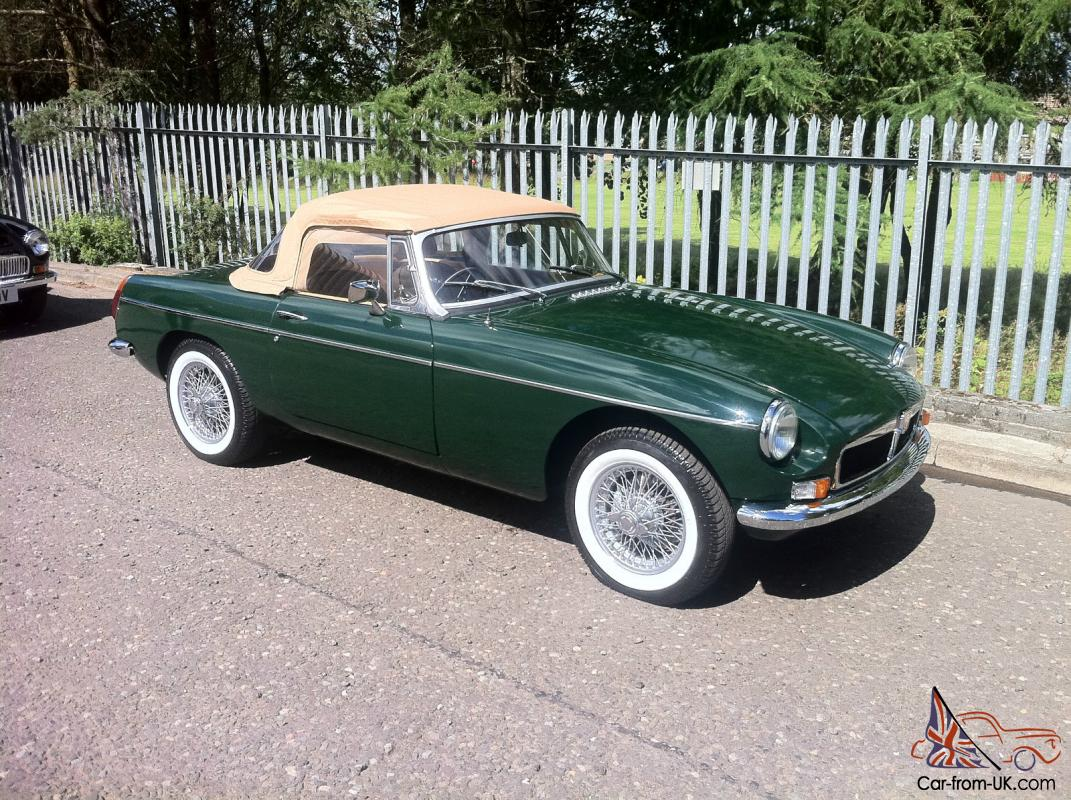 hight resolution of mgb roadster restored wire wheels british racing green rh car from uk com 1975 mgb wiring