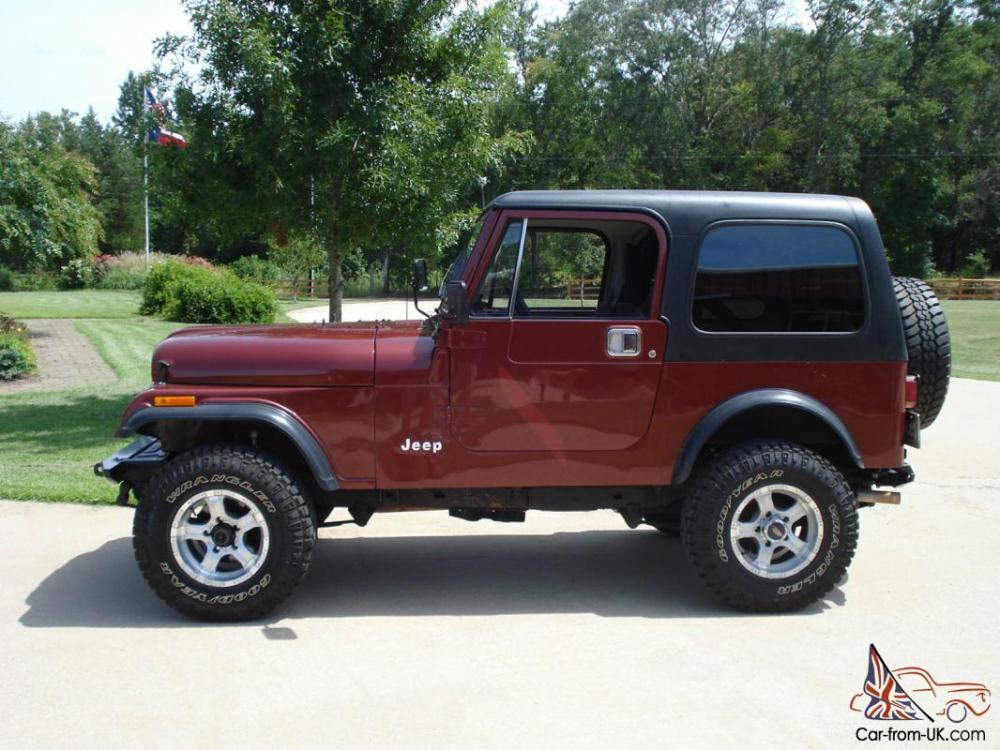 medium resolution of 1984 jeep cj 7