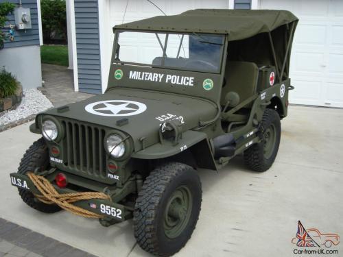 small resolution of willys 1946 cj2a u s army ww2 type military police style jeep w 50 caliber