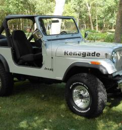 1985 jeep cj7 renegade fresh two year restoration automatic w only 81 000 miles photo [ 1066 x 800 Pixel ]