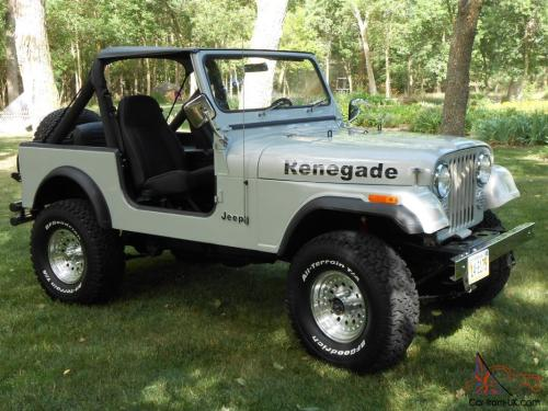 small resolution of 1985 jeep cj7 renegade fresh two year restoration automatic w only 81 000 miles photo