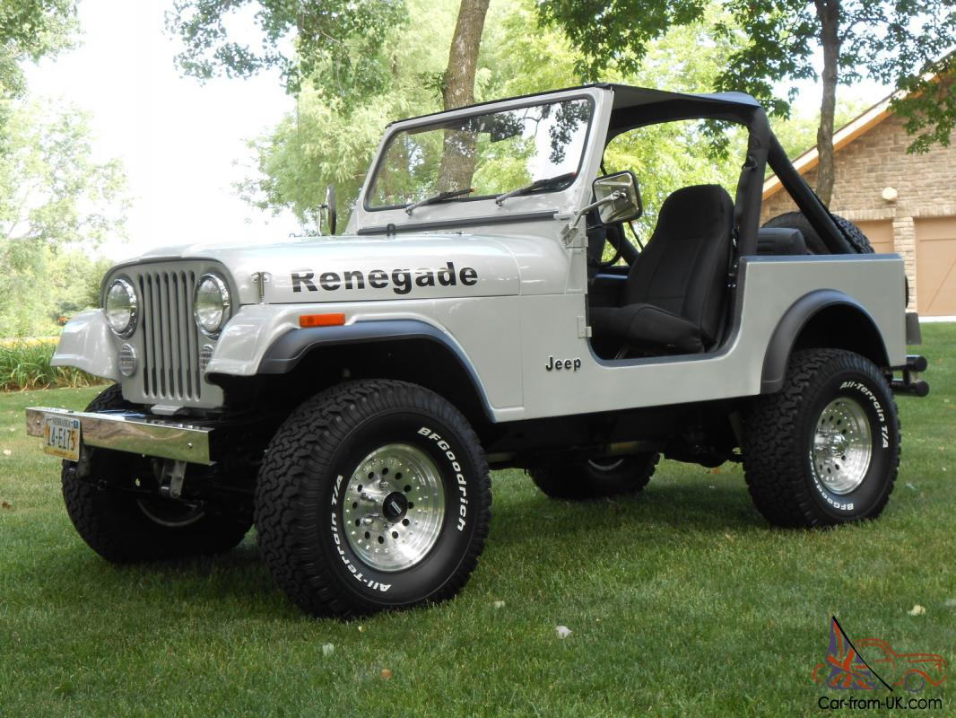 hight resolution of 1985 jeep cj7 renegade fresh two year restoration automatic w only 81 000 miles