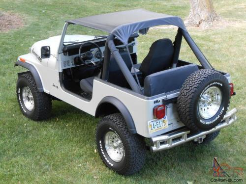 small resolution of 1985 jeep cj7 renegade fresh two year restoration automatic w only 81 000 miles