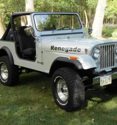 1985 jeep cj7 renegade fresh two year restoration automatic w only 81 000 miles [ 1066 x 800 Pixel ]