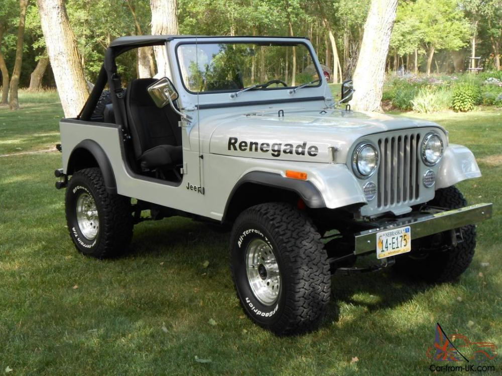 medium resolution of 1985 jeep cj7 renegade fresh two year restoration automatic w only 81 000 miles