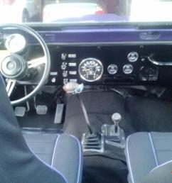 1980 jeep cj7 interior [ 1066 x 800 Pixel ]