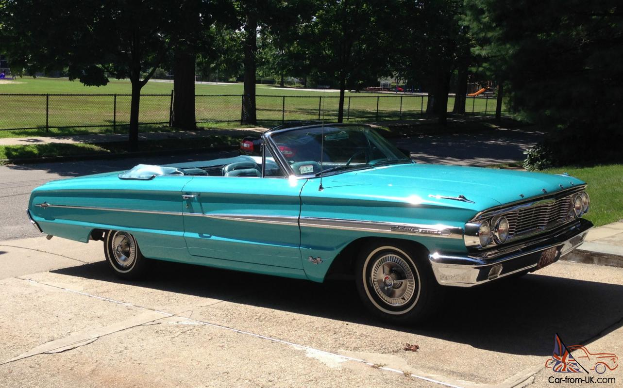 hight resolution of 1964 ford galaxie 500 xl convertible 390 v8 fully restored numbers matching