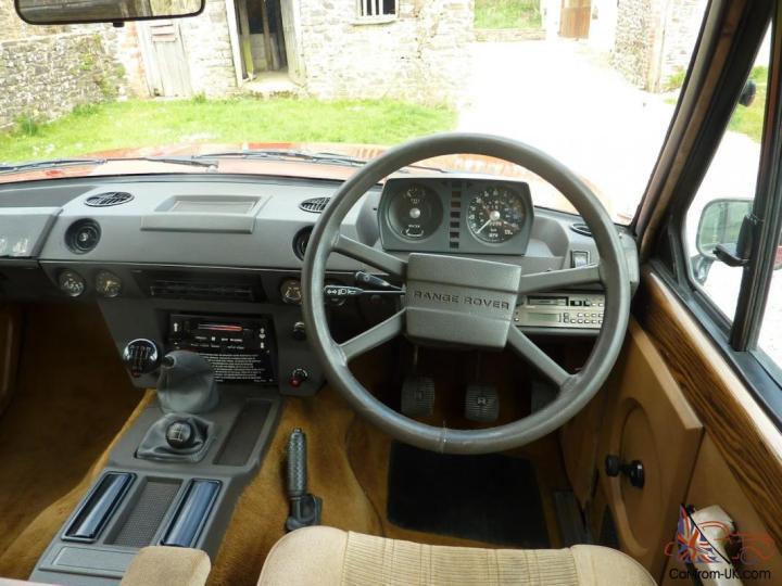 Range Rover Classic Interior Trim Colours