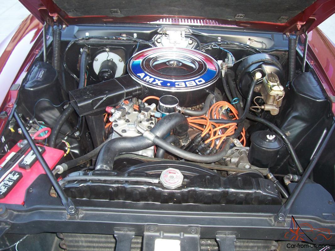 Amc Amx Wiring Harness 1968 Amx 390