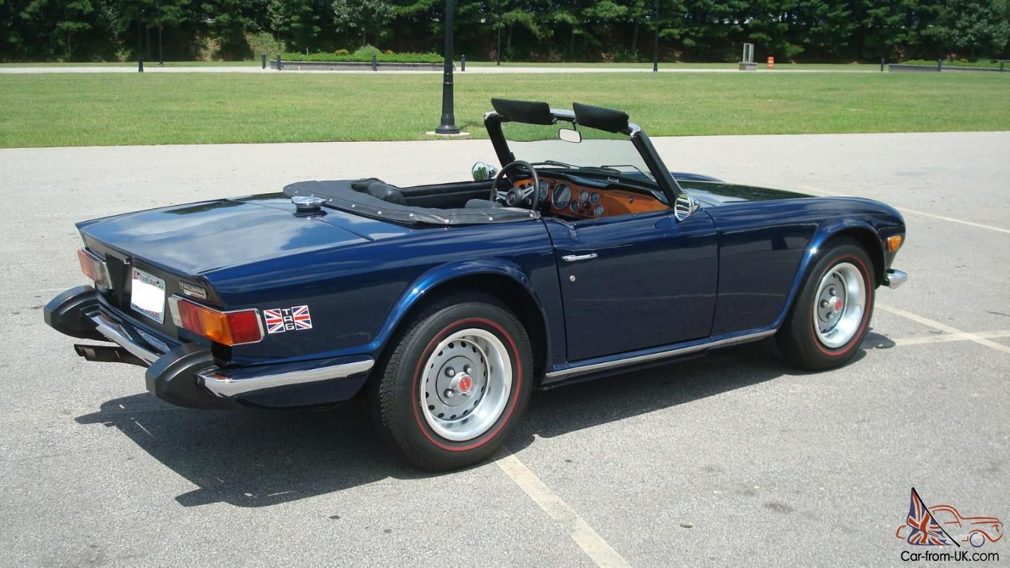 hight resolution of  1974 triumph tr6 with overdrive austin healey overdrive wiring diagram