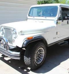 1985 jeep cj7 white [ 1041 x 800 Pixel ]