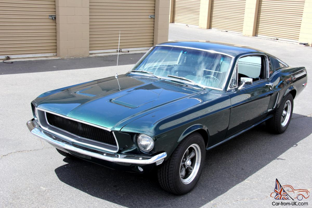 Mustang sales have once again beaten out the camaro&aposs. 1968 Ford Mustang Fastback Bullitt Rotisserie Restored